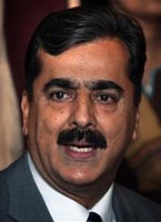 Yousaf Raza Gillani.